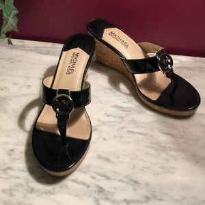 Beautiful Michael Kors wedge sandals